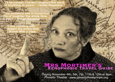 Mrs Mortimer's Xenophobic Travel Guide